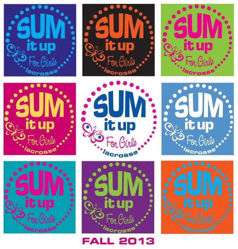 Sum It Up Lacrosse Fall 2013 Girls T-Shirt