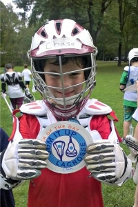 A Player of the Day at Sum It Up Lacrosse's fall clinic