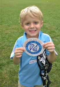 Player of the Day at Sum It Up Lacrosse Fall Clinic