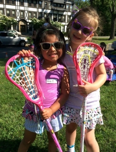 Ava T and Addison show off their shades